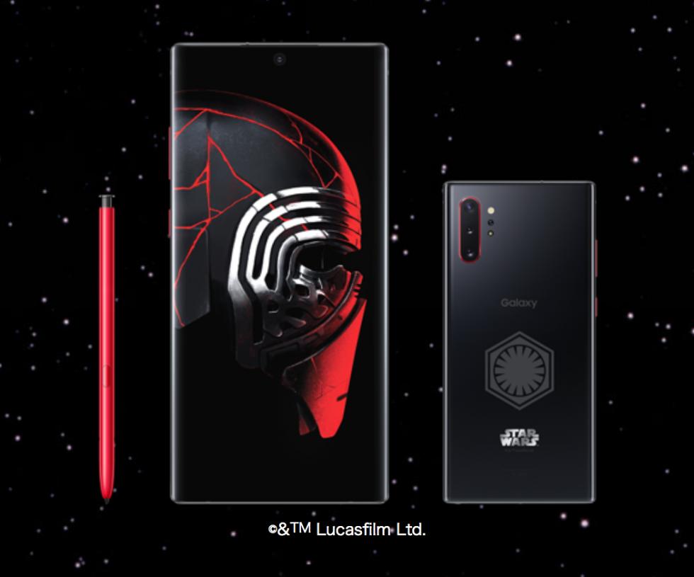 スター ウォーズのスマホ Galaxy Note10 Star Wars Special